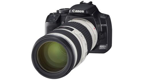 Canon 450d équipé d'un 70-200 f4