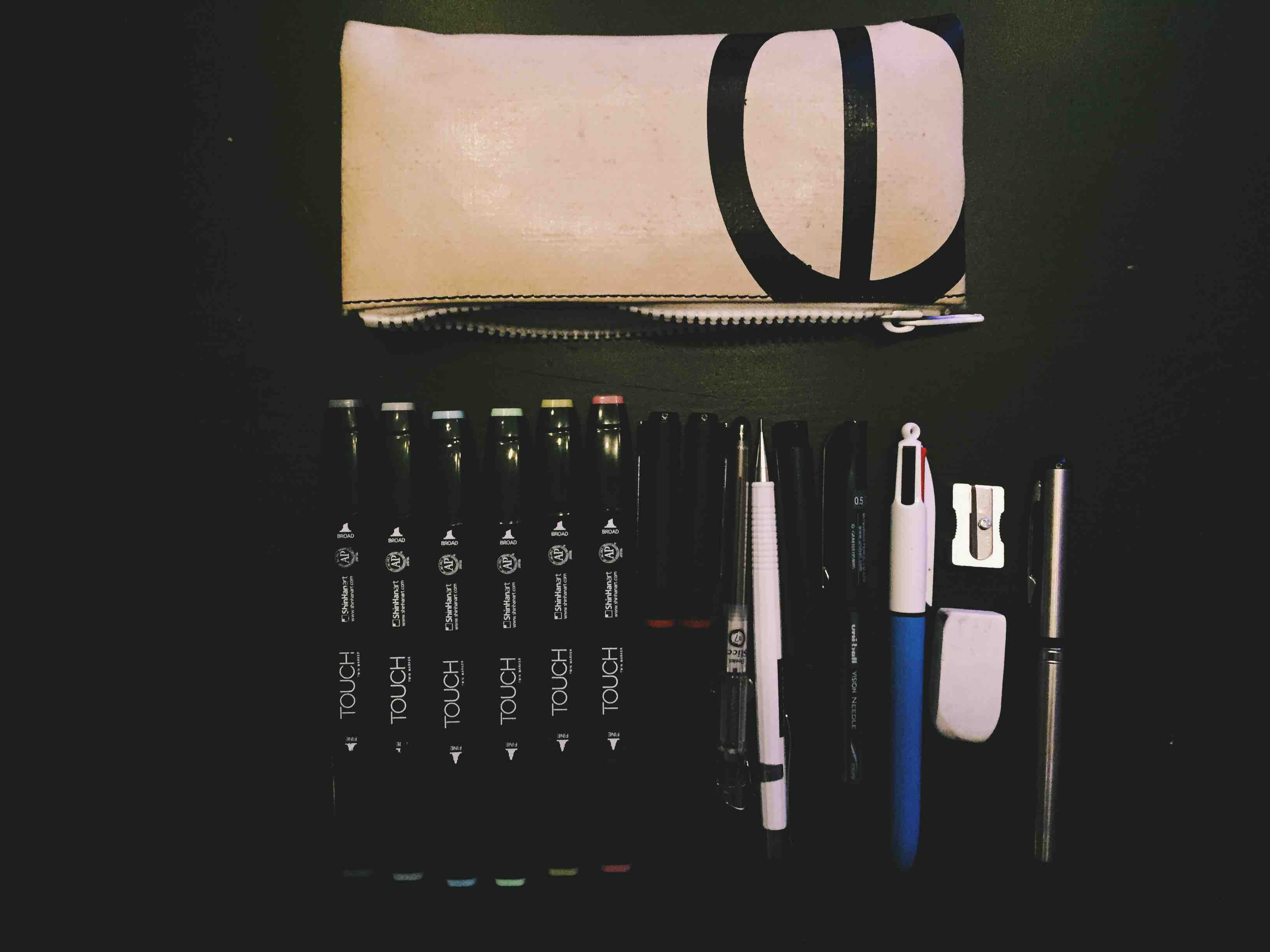 The pens I have allways with me
